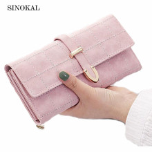 Purse Women Wallet Women Leather Wallet High Quality Purse Female Clutch Arrow Hasp Wallet Card Holder Candy Carteira Feminina