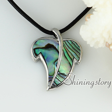 white oyster shell pink oyster shell rainbow abalone Shell necklaces pendants leaf mother of pearl jewellery Hand made jewelry