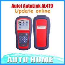 [Autel Distributor] 100% Original Autel AutoLink AL419 OBDII and CAN Scan Tool Update Via Internet 3 Years Warranty(China)