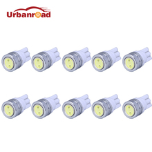 10pcs/lot T10 W5W LED Bulbs 194 168 COB Xenon White Parking  Interior Side Dashboard License Light Lamp Car Styling