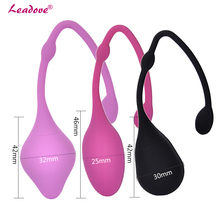 Buy Silicone Kegel Ball Ben Wa Balls Vagina Tightening Exercise Machine Smart Ball Love Adult Sex Toys Women Couples