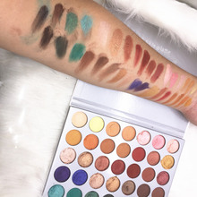 Kilied Kit jacly hills 35 Colors Pigment Matte Eye Shadow Pallete Makeup EyeShadow Palette Make Up Cosmetics