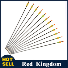12pcs/lot Hotest  73 cm Archery Arrows For Children /Women Practice  Fit For Compound Bow  For Children Practice/Shooting