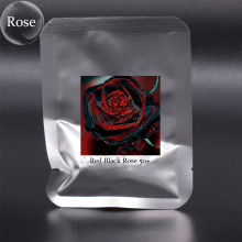 1 Professional Pack, 50 seeds / pack, Red Black Rare Rose Plant Seedling Garden Seed #NF412