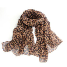 Hot Fashion Hollywood Leopard Print Cheetah Soft Shawl Scarf Wrap Stole(China)