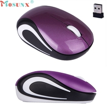 Realiable  Portable wireless mouse Cute Mini 2.4 GHz Wireless Optical Mouse Mice For PC Laptop Notebook