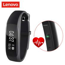 Lenovo HW01 Smart Band Fitness Bracelet Wristband Smartband Overwatch Bluetooth 4.2 Activity Heart Rate Moniter Pedometer