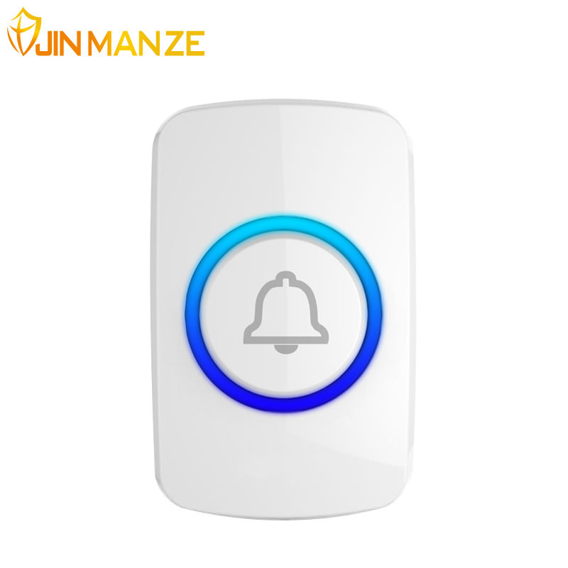 F51 Wireless Doorbell Button for Welcome Doorbell SOS Button Panic Emergency Button for Home Security GSM Alarm System 433mhz(China)