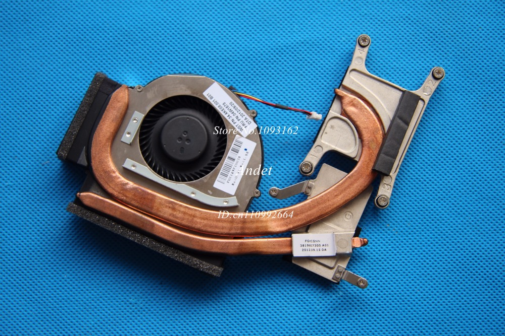 New Original for Lenovo ThinkPad T520 T520I CPU Cooling Fan Heatsink Thermal Independent Discrete 04W1578 04W1579 04W0439<br>