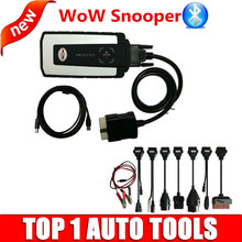 DHL Freeshipping+TCS CDP Pro Wow Snooper with 5.008 R2 Keygen software+Full set 8pcs Car Cables for cars trucks diagnostics tool