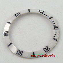 38mm white ceramic bezel insert for watch made by parnis factory B36