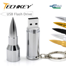 Gold Silver 8GB 16GB 32GB 64GB Flash Memory Pen Drive USB 2.0 Flash Drives Sticks Pendrives the bullet U Disk bala flash disk