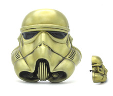3D Starwars Stormtrooper Helmet Bronze Color Belt Buckle