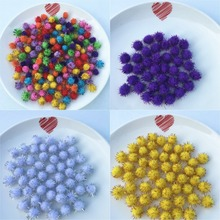 Buy 20g, 250pcs 10mm Multi Color Pompom Fur Craft DIY Soft Pom Poms Child/Party/Christmas Decoration/Sewing Cloth Accessories for $1.49 in AliExpress store