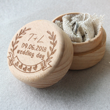 Buy Wood Wedding Ring Box,Personalized Wedding Ring Holder Box,Rustic Engagement Ring Bearer Box,Bride Groom Gift,Wedding Decor for $12.99 in AliExpress store