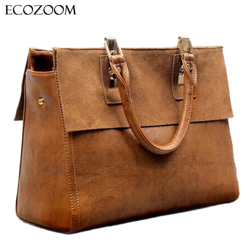 Nubuck Handbag Women Designer Split Leather Frosted Shoulder Bag Female Suede Messenger Bag Tote Lady Hand Bag Top-Handle Bag<br>