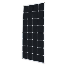 universal High Conversion Rate Efficiency Output 18V 100W Monocrystalline Solar Panel Semi Flexible DIY Solar Module for Boat RV