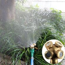 4 NozzleS Spray Misting Garden Grass Lawn Impulse Sprinklers Irrigation Fitting(China)