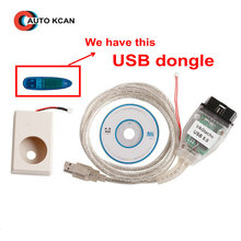 Hot Sale Vag tacho USB Version V 5.0 With the Usb Dongle VAG Tacho V5.0 For NEC MCU 24C32 or 24C64(China)