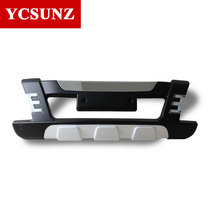 2013 Car Front Bumper For Toyota Hilux Sr5 Protective Bumper With Led For Toyota Hilux Vigo 2012 2014 bumpersYcsunz(China)