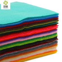 High Quality Mix color 100% Soft Polyester Nonwoven Felt Fabric DIY Felt Fabric Pack 1.5MM Thick 42PCS/lot 15X15CM RN-42-1(Hong Kong)