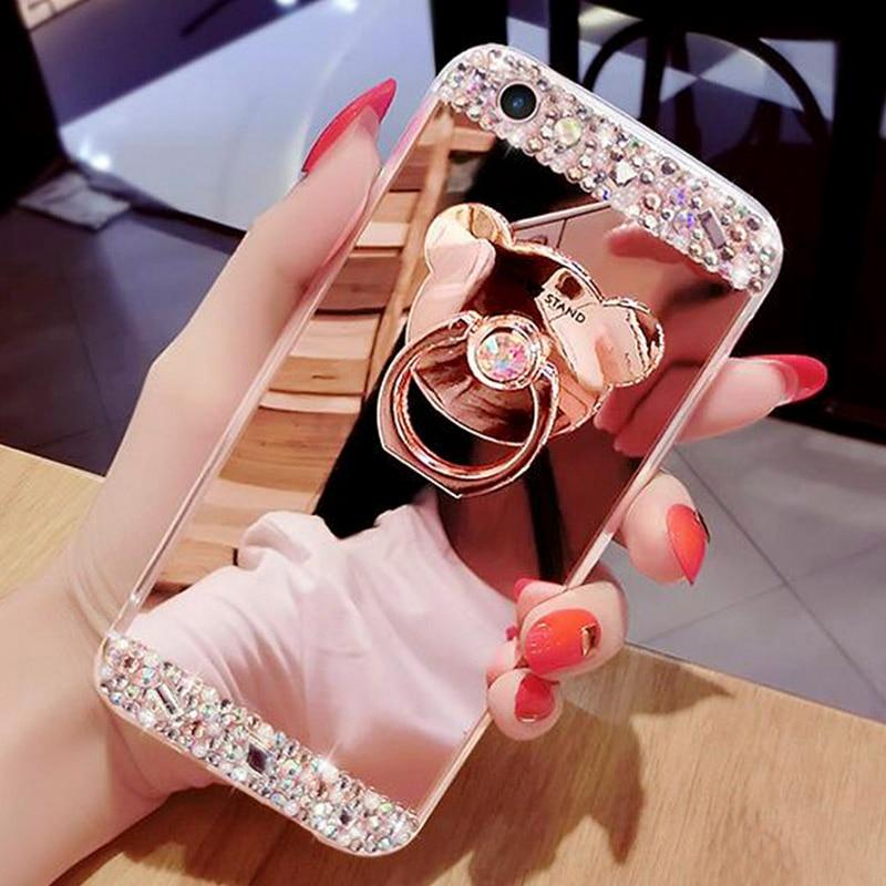Diamond Glitter Mirror Case (4)