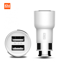 Original Xiaomi ROIDMI Car Charger BFQ01RM Bluetooth 4.0 FM Transmitter 5V 2.1A Quick Car Charger Adapter Music Playing FM Radio(China)
