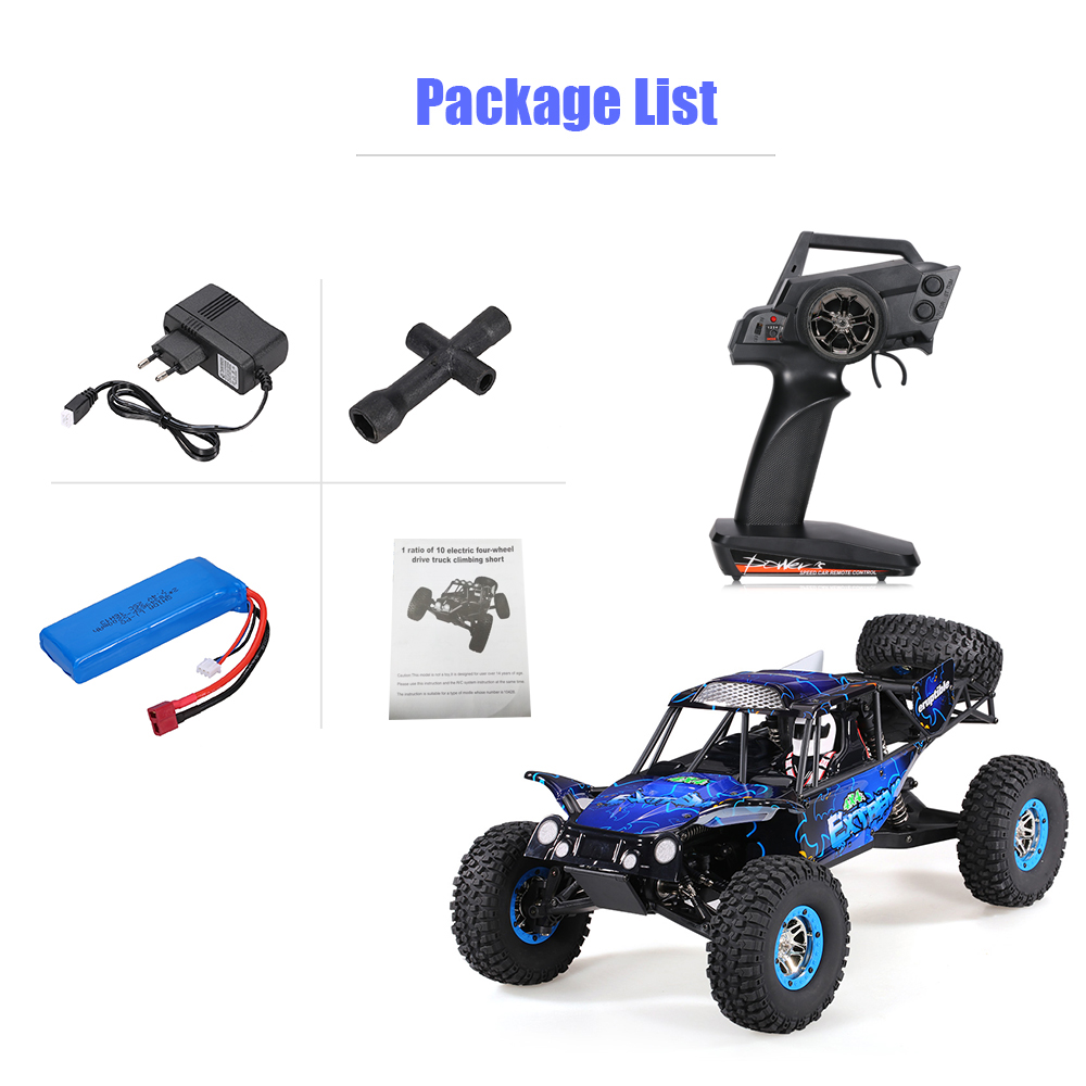 Cool Remote Control Climbing Car SUV 10428-B2 110 2.4G 4WD Electronic Rock Crawler Off-Road Buggy Desert Baja RC Cars RTR (18)