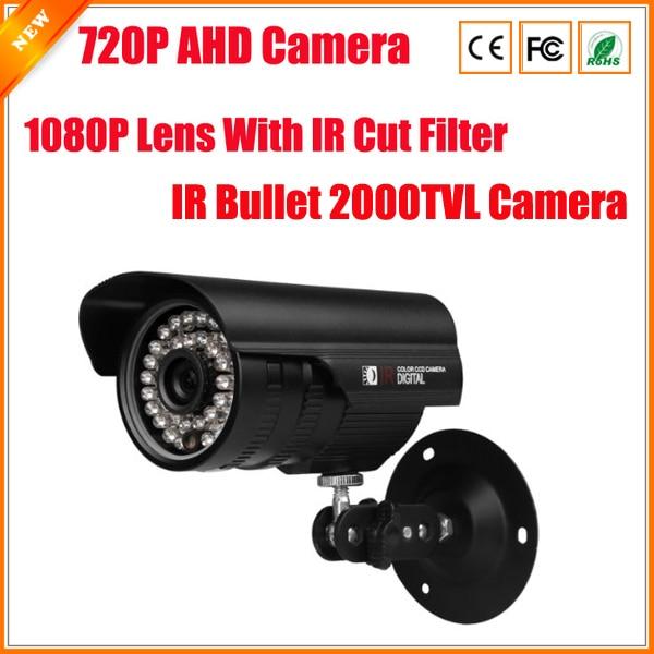 XINFI IP66 Waterproof Outdoor Camera 1/4 CMOS OV9712 Sensor 2000TVL 1.0MP 720P Bullet AHD Camera CCTV Security Surveillance IR<br><br>Aliexpress