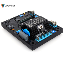 WALFRONT New High Quality Black Automatic AVR SX460 Voltage Regulator for Generator Voltage Regulator(China)