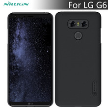 For LG G6 case NILLKIN Frosted Shield matte hard back cover case For LG G6 5.7 inch phone cases Gift screen protector 2017 New(China)