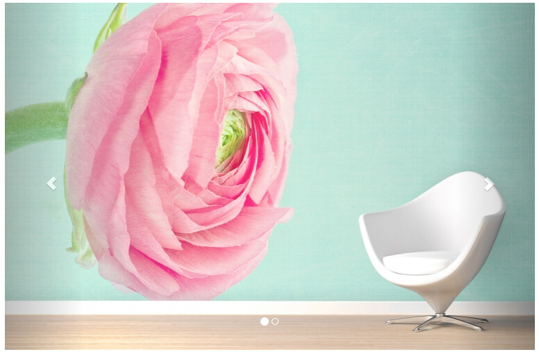 Custom papel DE parede floral, Pastel Flower Wall Mural to the sitting room  bedroom TV Wall waterproof vinyl papel DE parede <br>
