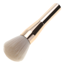 1Pc Big Makeup Brush 16cm Length Synthetic Fiber Hair Aluminum Brushes Tools Cosmetic Blush Foundation Powder Face Make Up Apply(China)