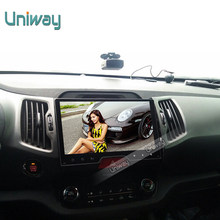 uniway 2G+16G 2 din android 6.0 car dvd for kia sportage 2014 2011 2009 2010 2013 2015 car radio stereo multimedia player GPS