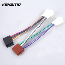 buy toyota wiring harness and get free shipping on aliexpress com  plug wire audio line matched connector adaptor line interior connection iso wiring harness cars dedicated for