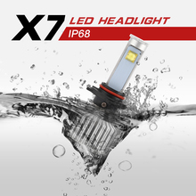LED Headlight Bulbs Super Bright LED Headlamp Kits 9005 With 2  led 9V/36V DC 80W 7200LM High Power 80W HB3 9005 TOOK lighthouse