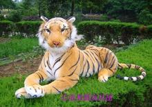 stuffed animal 145cm plush tiger toy about 57 inch simulation tiger doll great gift w014