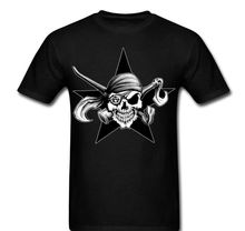 Skull Pirate Anarchy Star Social Change Beginning Chose Your Life Shirt T-shirt Round Neck Best Selling Male Natural T Shirt