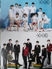 8 pcs/set Different Designs Korean idol group EXO Collective members Posters Gift Wall Pictures Poster 42*29cm free shipping