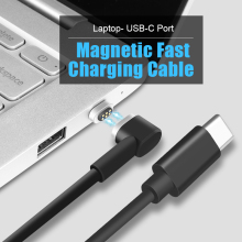 SIKAI Magnetic Charging Cable 45w PD Fast Charge USB-C Type-C Cable for Macbook Samsung S8 Huawei P9 P10 HTC Quick Charger(China)