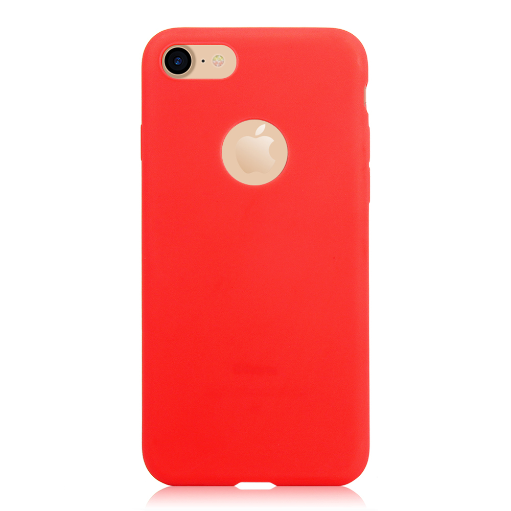 KIP71149R_1_Matte Pure Color Soft TPU Case for iPhone 7