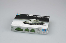 TRUMPETER  07288   1/72  US M46 Patton Medium Tank Assembly Model kits scale model  3D puzzle vehicle model