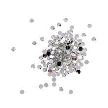 2000pcs Crystal Flat Back Rhinestones Table Confetti Wedding Party Scatter Phone Decor DIY Clothes Garment Accessory