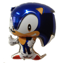 TSZWJ G-019 1pcs Classic Toys Inflatable Sonic Balloons Party Decorations Mylar Balloons Cartoon Character Helium Balloons(China)