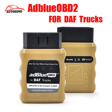 AdblueOBD2 For DAF Trucks adBlue/DEF and NOx Emulator via OBD2 Plug and Drive Ready Device with free china post shipping