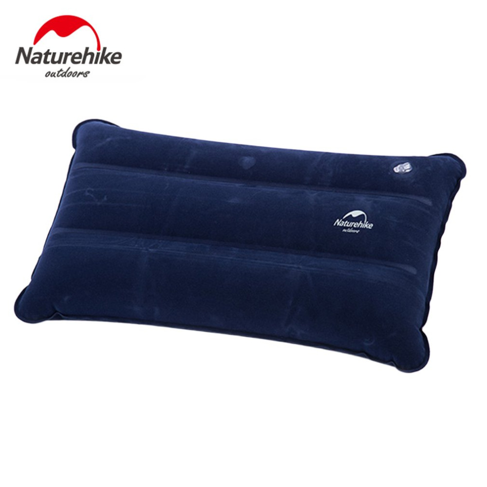 Naturehike 44*27cm Ultralight Square Portable Air Inflatable Outdoor Camping Travel Soft Pillow wholesale
