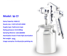 1000CC Spray Gun Paint Spray Gun DIY spray gun HVLP sprayer Control Spray Paint Sprayers(China)