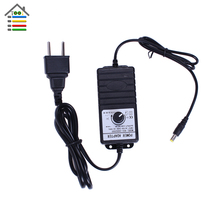 New Adjustable DC Adapter 3-24V 2A Power Supply for DC Motor Speed Controller with EU Plug Fit Hand Electric Drill(China)