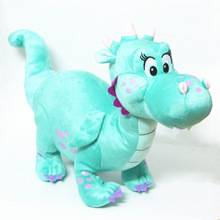 Princess Sofia the First Crackle Dragon Dinosaur Plush Toy Soft Stuffed & Plush Animals Dolls Baby Kids Toys Gifts 36X28 CM