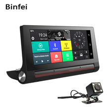 6.86 Inch Car DVR 3G WCDMA Android Dash Cam GPS Navigation Full HD 1080P Auto Video Camera Recorder Wifi Bluetooth Registrator